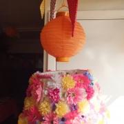 Lavishly flowery Lampshades4
